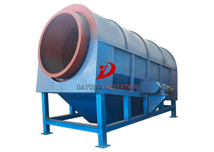 Stainless Steel Trommel Vibration Separation Machines For Environmental Protection