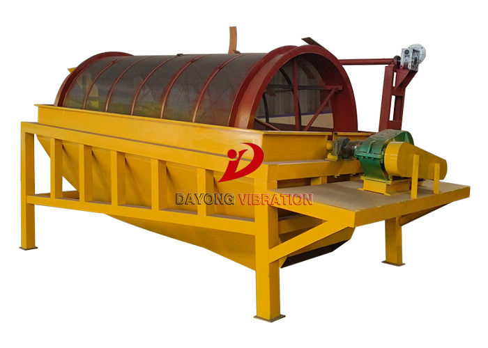 Manganese Carbon Steel Material Sand Trommel Screen Vibrating Screen Machine